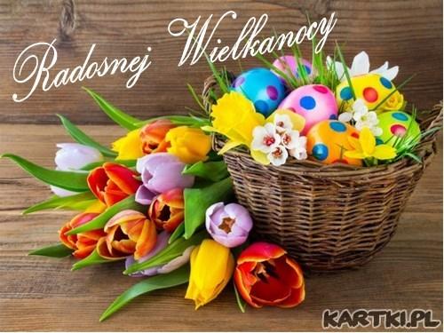 Życzenia wielu radosnych chwil na Święta Wielkanocne, smacznego jajka oraz mokrego dyngusa!