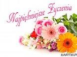 Bukiet najpiękniejszych życzeń dla Ciebie!