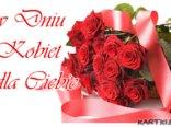 Bukiet róż Ci przesyłam i słów kilka miłych...