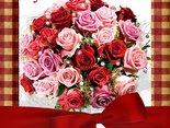 Bukiet różyczek i najlepszych życzeń dla Ciebie!