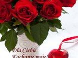 Czerwone róże dla Ciebie