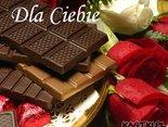 Dla Ciebie z okazji Twojego Święta z życzeniami słodkiego miłego dnia!