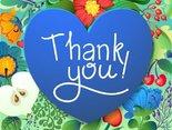Dziękuję za pamięć, dziękuję za serce, kłaniam się pięknie w serdecznej podzięce!