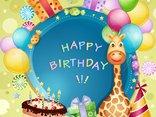 dziś są urodzinki Twoje, przyjmij więc życzenia moje-szczęścia, zdrowia, pomyślności i na każdy dzień radości!