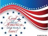 God bless America,land that I love
