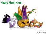 Hey! It's time to party hard! Happy Mardi Gras!