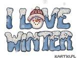 Kocham zimę!
