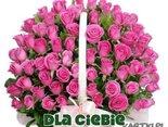 Koszyczek różyczek i najlepszych życzeń dla Ciebie!