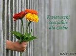 Kwiatuszki specjalnie dla Ciebie