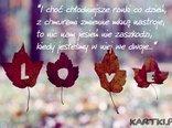 miłość jesienią