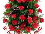 Najpiękniejsze kwiaty i życzenia dla Ciebie w dniu imienin!