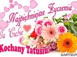 Najpiękniejsze życzenia dla Ciebie Kochany Tatusiu