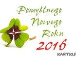 Niech ten  Rok 2016 przyniesie Ci dużo szczęścia!