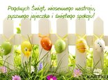 PogdnychŚwiąt, wiosennego nastroju,pysznego jajeczka i świętego spokoju!