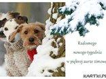 Radosnego nowego tygodnia w pięknej aurze zimowej