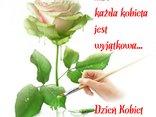 Róża dla pięknej pani