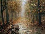 Samotna ławka