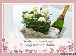 Serdeczne gratulacje z okazji rocznicy ślubu