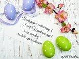 Spokojnych i wiosennych Świąt Wielkanocnych oraz wszelkiej radości i pomyślności