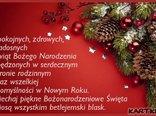 * Spokojnych,zdrowych Świąt Bożego Narodzenia *