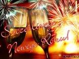 Szampańskiej zabawy sylwestrowej i Szczęśliwego Nowego Roku!