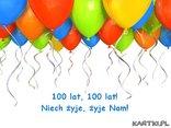 Urodziny, baloniki, najlepsze życzenia