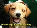 Uśmiechnij się do mnie, prosze....
