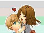 Uwielbiam,gdy mnie przytulasz.Wtedy czuję,że mam wszystko.