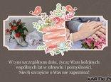 W Waszą rocznicę ślubu