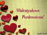 Walentynkowe pozdrowienia