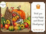 Wish you a very happy and blessed Thanksgiving