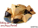 Wishing you  a very happy Purim!
