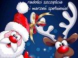 Z okazji Mikołajek dla Ciebie życzenia dużo uśmiechu, radości i szczęścia!