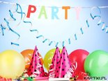 zapraszam na urodzinowe party